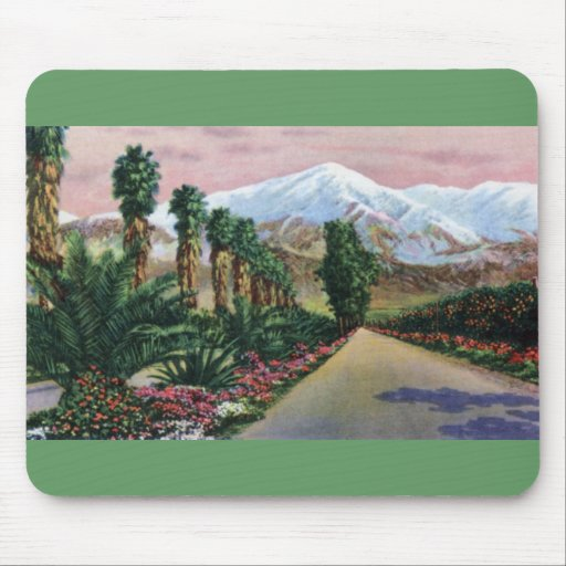 California in Midwinter Mouse Pad