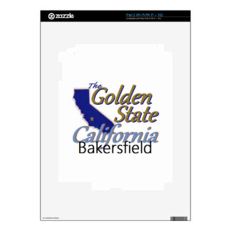 CALIFORNIA iPad 2 DECALS