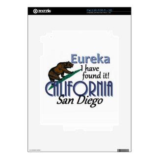 CALIFORNIA iPad 2 SKINS