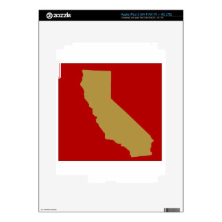 CALIFORNIA iPad 3 DECALS