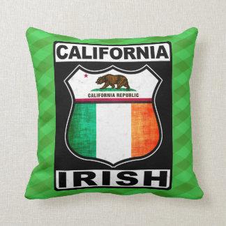 California Irish American Cushion