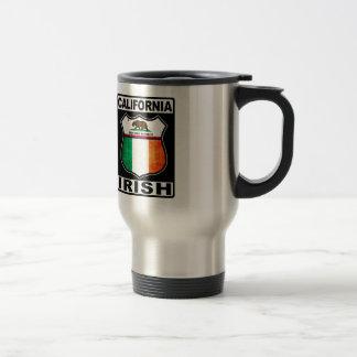 California Irish American Mug