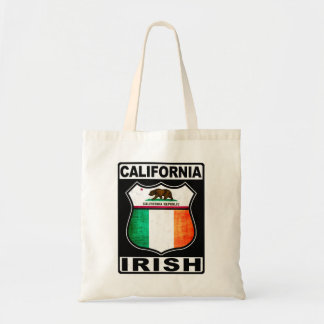 California Irish American Shopping Bag