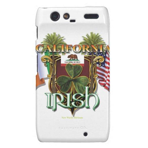 California Irish Pride Droid RAZR Covers