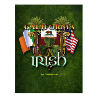 California Irish Pride Postcard