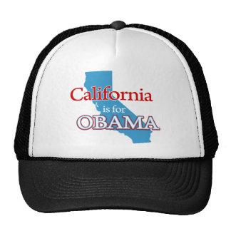 california is obama trucker hat
