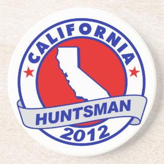 California Jon Huntsman Drink Coasters