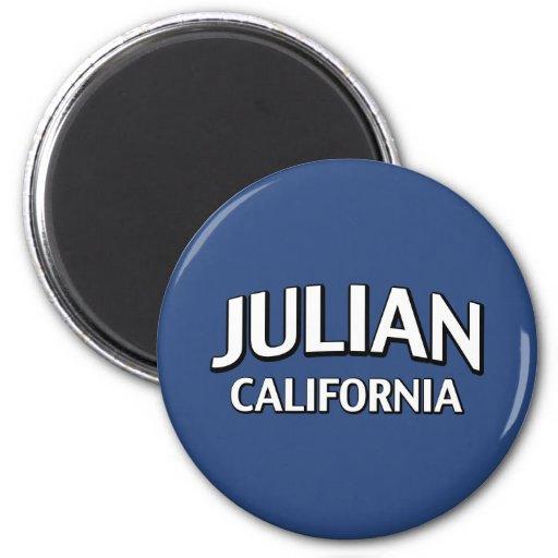 California juliana imán redondo 5 cm