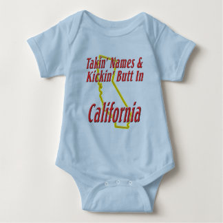 California - Kickin' Butt Baby Bodysuit