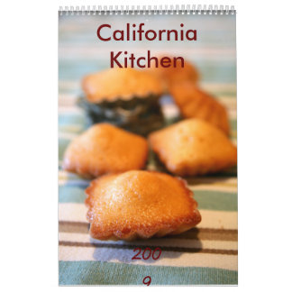 California Kitchen Calendar
