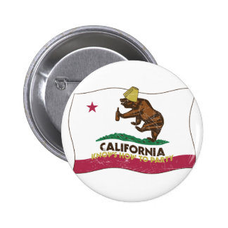 California Knows How to Party Bear 2 Inch Round Button