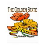 California la amapola de oro del Golden State Postal