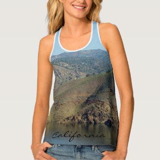 California Lakes and Hills Tank Top
