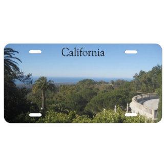 California Landscape License Plate License Plate