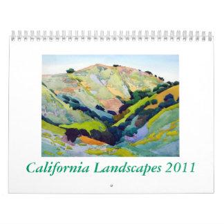 California Landscapes 2011 Calendar