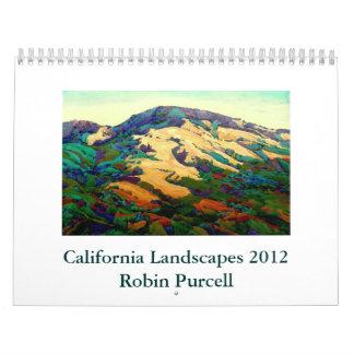California Landscapes 2012 Calendars