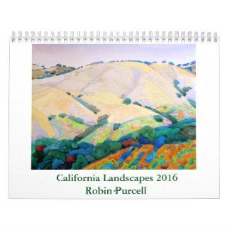 California Landscapes 2016 Robin Purcell Calendar