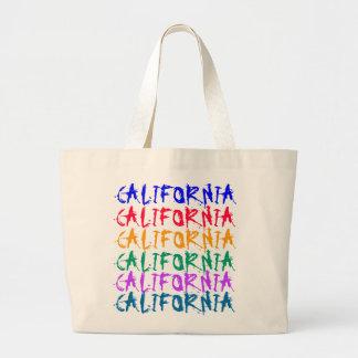 CALIFORNIA large tote Tote Bag