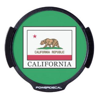 California LED Window Decal