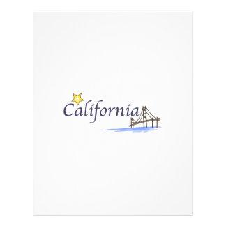 California Custom Letterhead