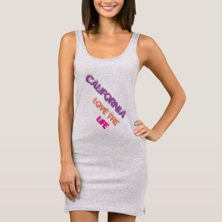 California life sleeveless dress