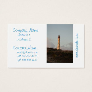 California Lighthouse Business Card