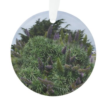 Beach Themed California Lilac Ornament