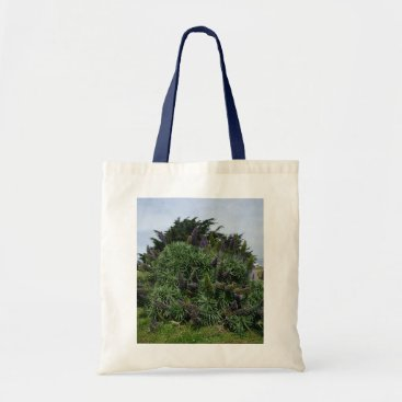 Beach Themed California Lilac Tote Bag