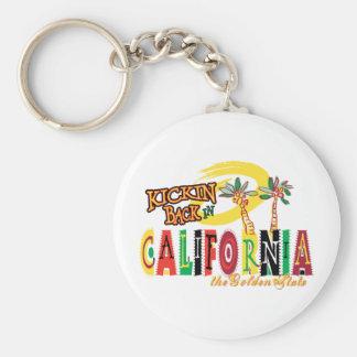 California Llavero Redondo Tipo Pin
