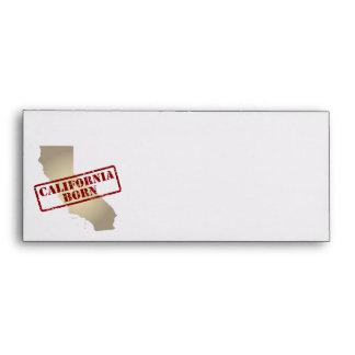 California llevada - sello en mapa