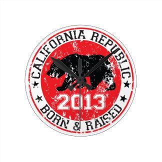 California llevada y aumentó 2013 relojes de pared