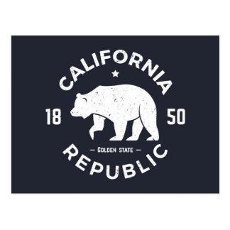 California Logo | The Golden State Postcard