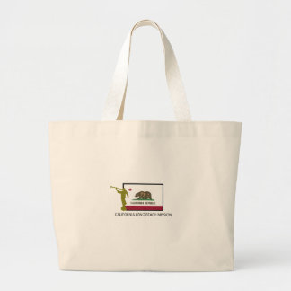 CALIFORNIA LONG BEACH MISSION LDS CTR LARGE TOTE BAG