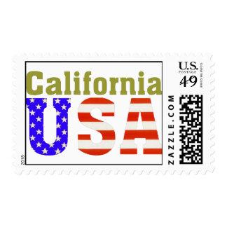 ¡California los E.E.U.U.! Estampillas