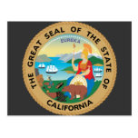 California, los E.E.U.U. Tarjetas Postales