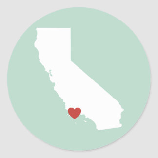 California Love - Customizable Sticker