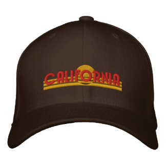 California Love Embroidered Hat