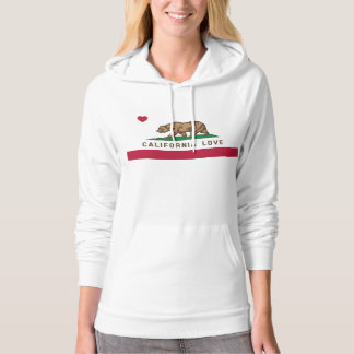 California Love Flag Women's Pullover Hoodie