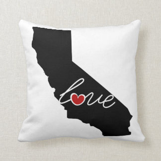 California Love!  Gifts for CA Lovers Throw Pillows