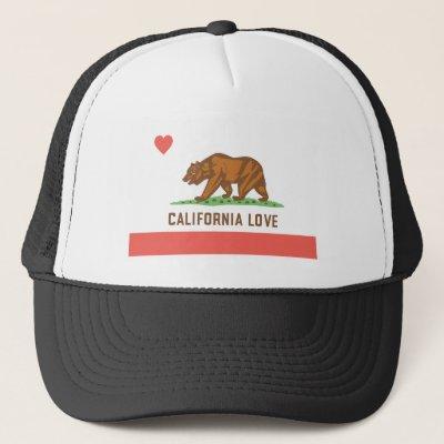 Vintage Black California Love Trucker Hat  544e71da39e