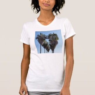 California Love Palm Tree Heart Photo T-Shirt