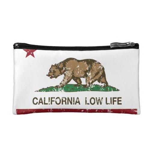 California Low Life Cosmetic Bags