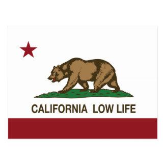 California Low Life Postcard