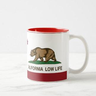 California Low Life Two-Tone Coffee Mug