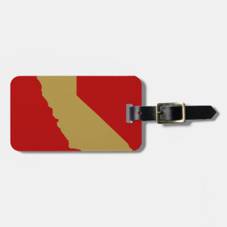 CALIFORNIA LUGGAGE TAG