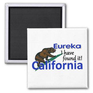 CALIFORNIA 2 INCH SQUARE MAGNET