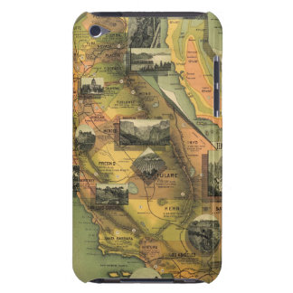 California Map Barely There iPod Case