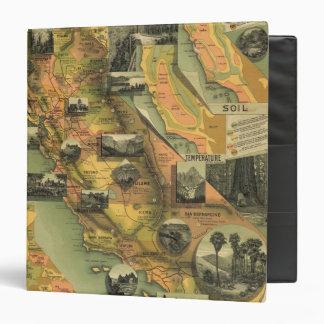 California Map Binder