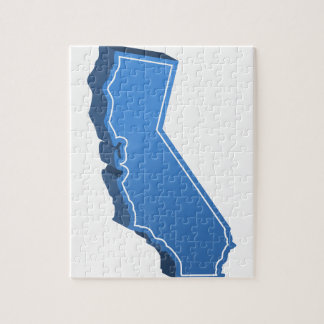 California Map Icon Puzzles