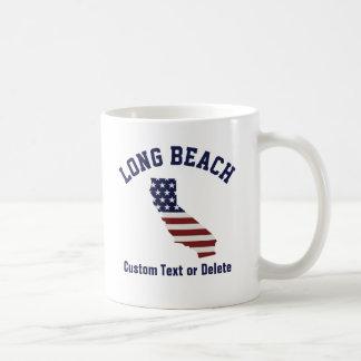 California Map | Patriotic USA Flag | Your City Coffee Mug